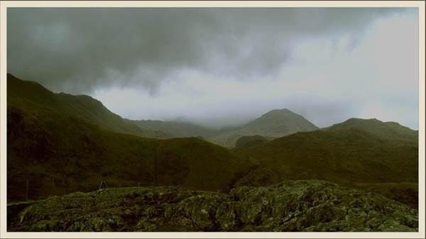 Through the Mist, Snowdonia by Bowline