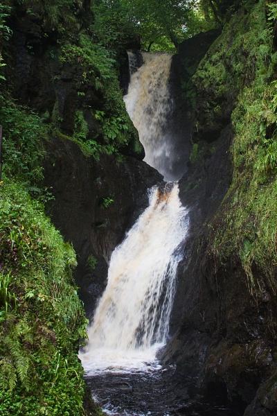Glenariff Waterfall 2 by rowarrior
