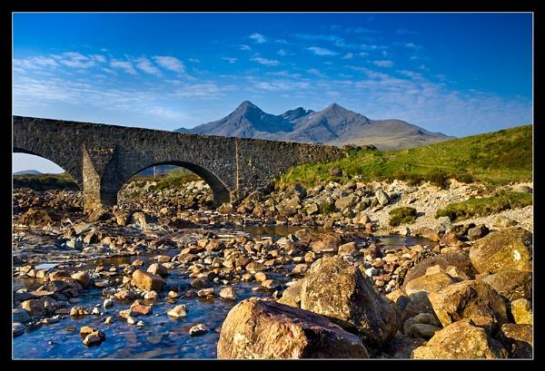Sgurr Nan Gillean from the River Sligachan by SteveH63