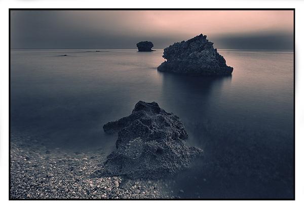 Rocks on Poros Beach by adybazz
