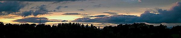 sunset by geosami
