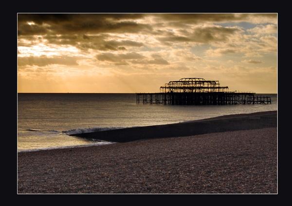 Brighton West Pier by colin63