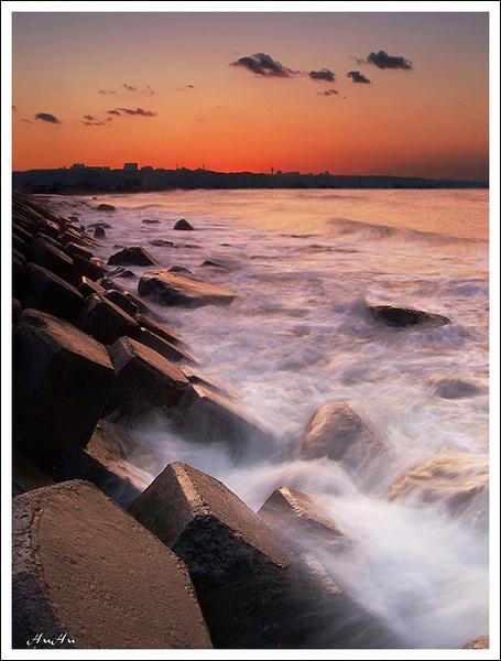 sea rhythm by HuHuLin