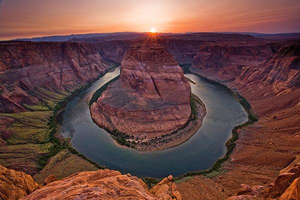 Horseshoe Bend Sunset by stephenoachs