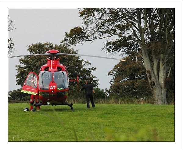 Devon Air Ambulance by DolphinLady
