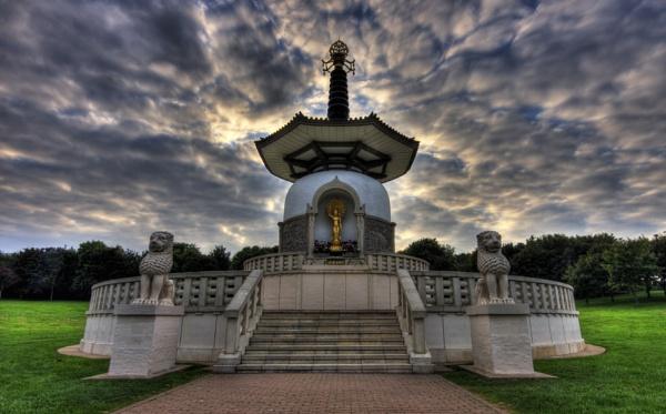 Peace Pagoda by PaulaLey