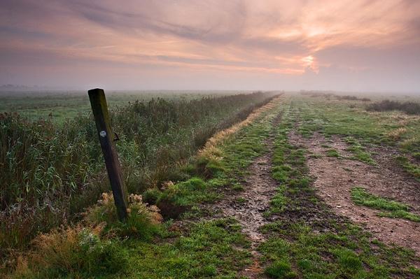 Misty Sunrise by kennyoak