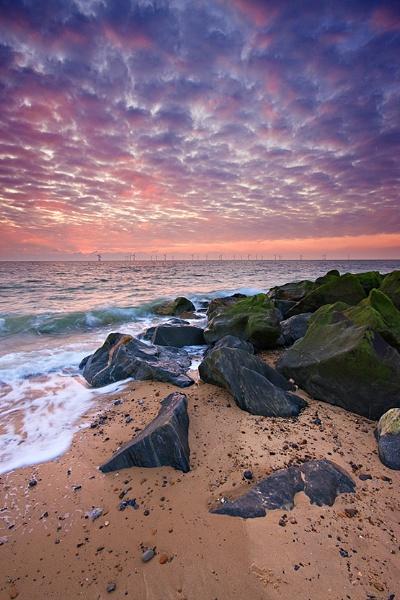 Caister Sunrise by kennyoak