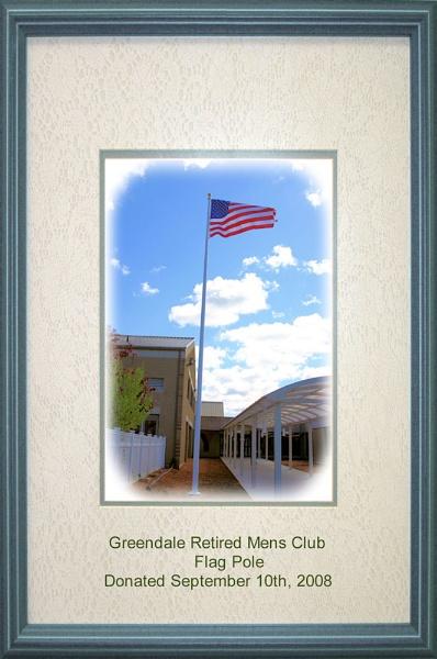 USA Flag pole dedication by chuckspics