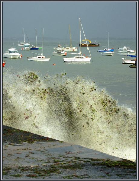 Stormy seas by Nettles
