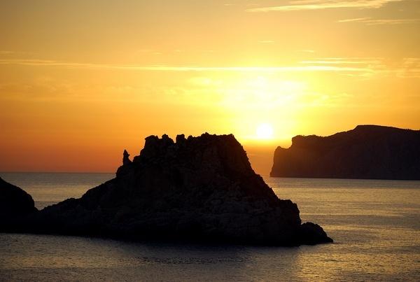 Malgrats sunset by Anthonyric