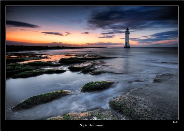 September Sunset by MarkBroughton