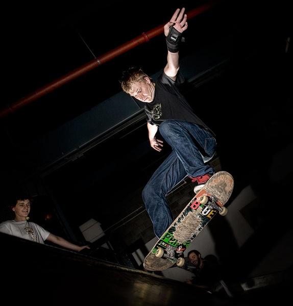 Skateboarding II by jogafoto