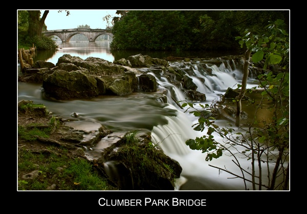 Clumber Park Bridge by RFphotography