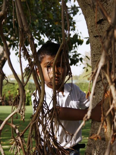 Hiding by madhujitha