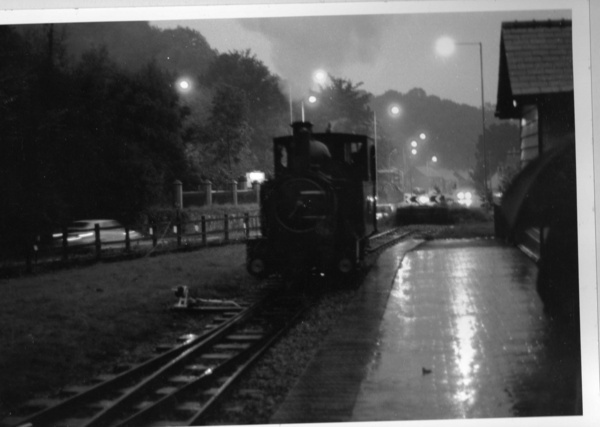 A rainy night in Welshpool by ExT_Racer