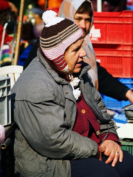 Nicosia Market Trader by urdygurdy
