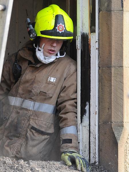 firefighter... by digitalpic