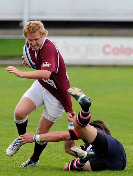 Rugby Clash by digitalpic