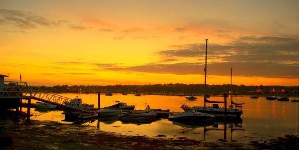 Bembridge Harbour by Vee_Enn
