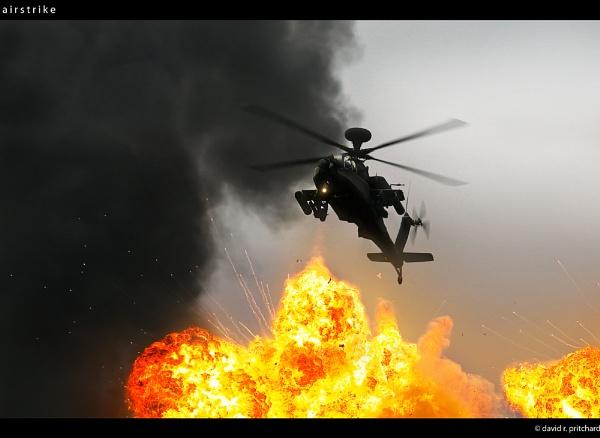 airstrike by discreetphoton