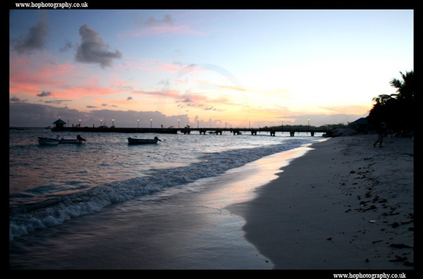 Barbados sunset by hophotography
