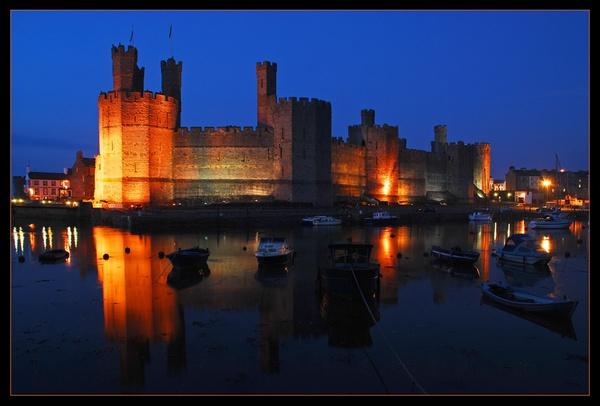 Caernarfon Castle by Andrew_Hurley