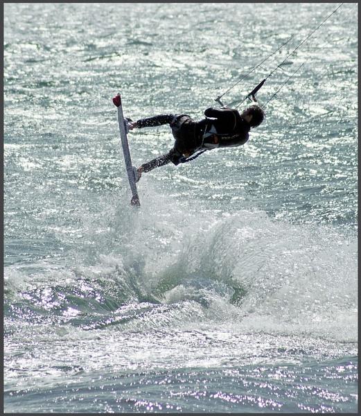 Hunk on a board by Nettles
