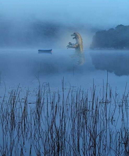 Loch Voil monster by dsafari