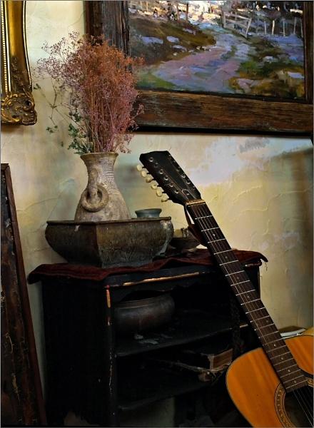 Paul\'s Studio - Detail by AnneWorner