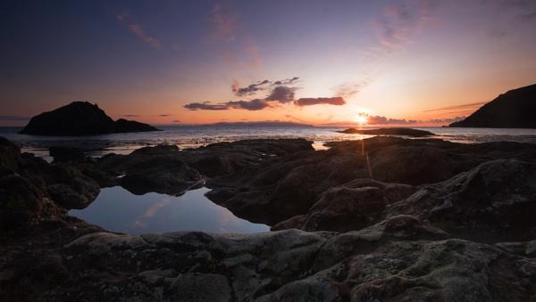 Murlough Bay Sunrise by rowarrior