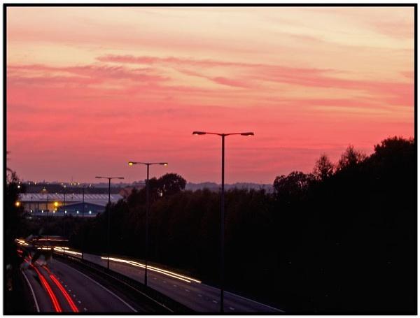 A14 Sunset by gossyboy