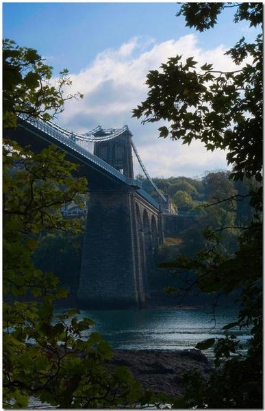 Menai Suspension Bridge by bmott001