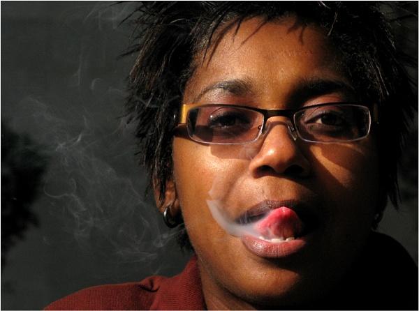 Blowing smoke by WimdeVos