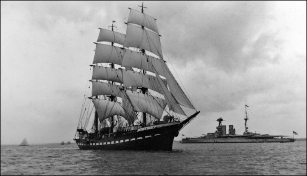 The Training Ship Belem by peterkin