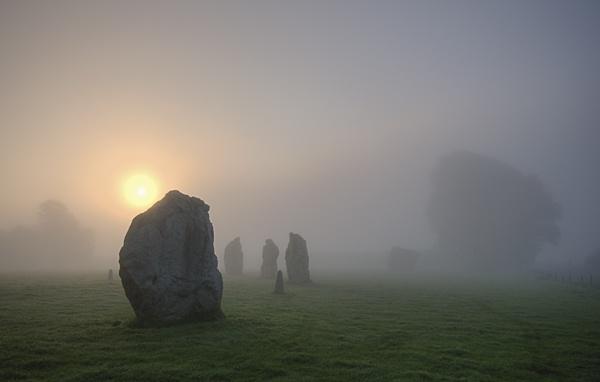 Avebury Sunrise by rogerbryan
