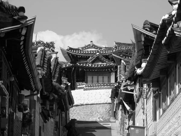 Korean Houses by SheenaK