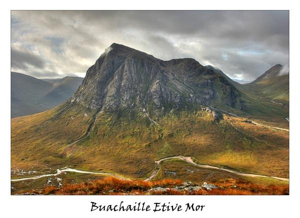 Buachaille Etive Mor by trekpete