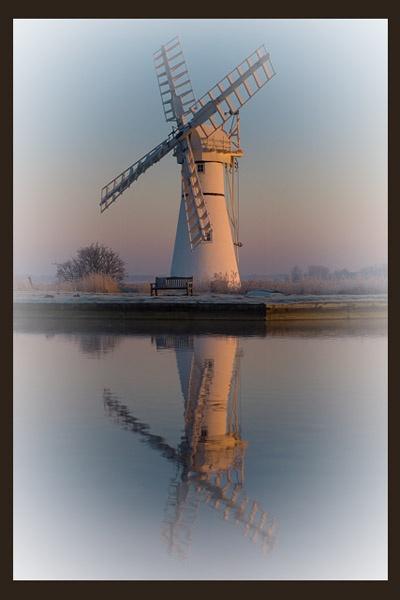 Dawn at thurne mill by KevinJM
