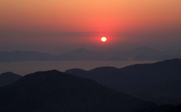 Turkey sunset by moglen