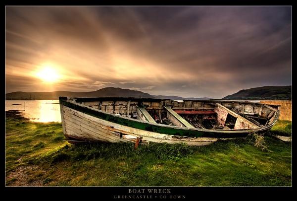 Boat Wreck by garymcparland