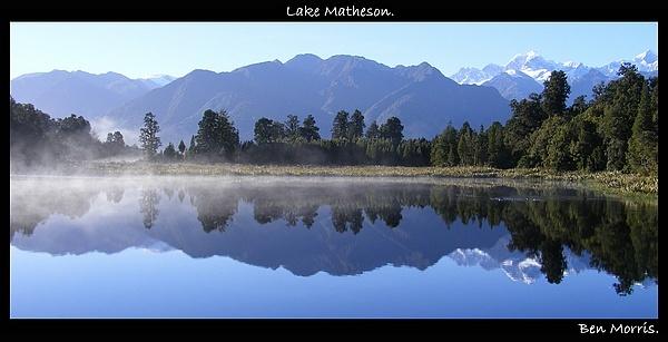 Lake Matheson by MrBMorris