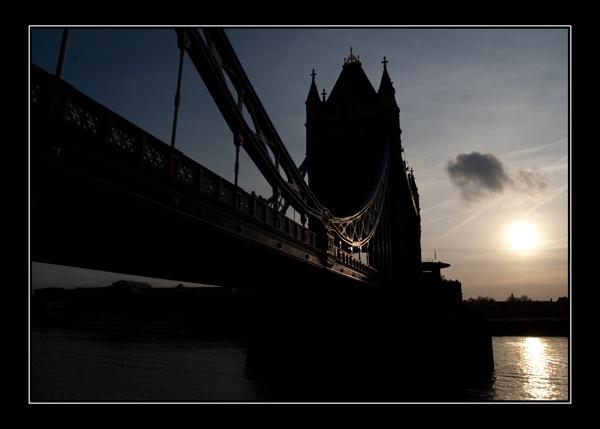 Tower Bridge Sunset by PhilNewberry