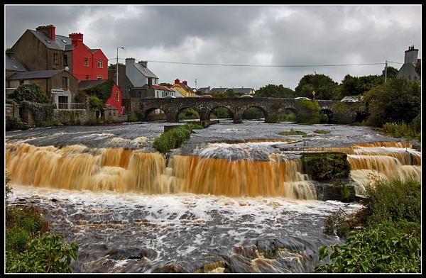 Ennistymon Falls by Fisher2
