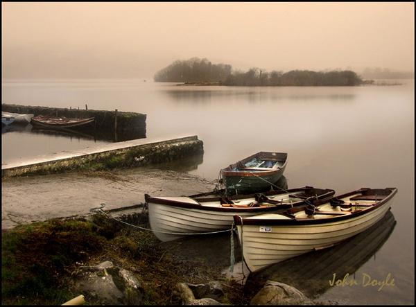 evening mist falls by shooter632