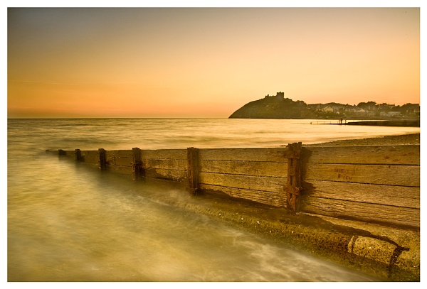 Criccieth at Sunset by SteveH63