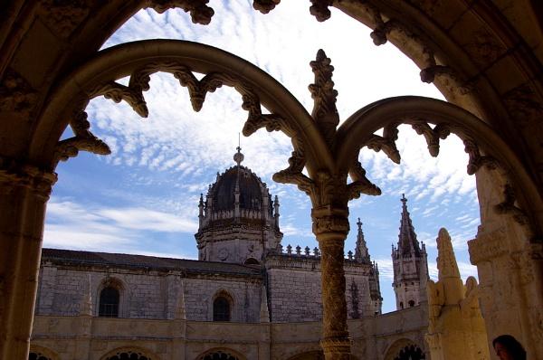 Lisbon Jeronimos Monastery by piotro