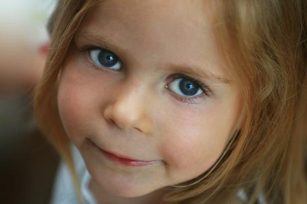 Blue eyes by vickik