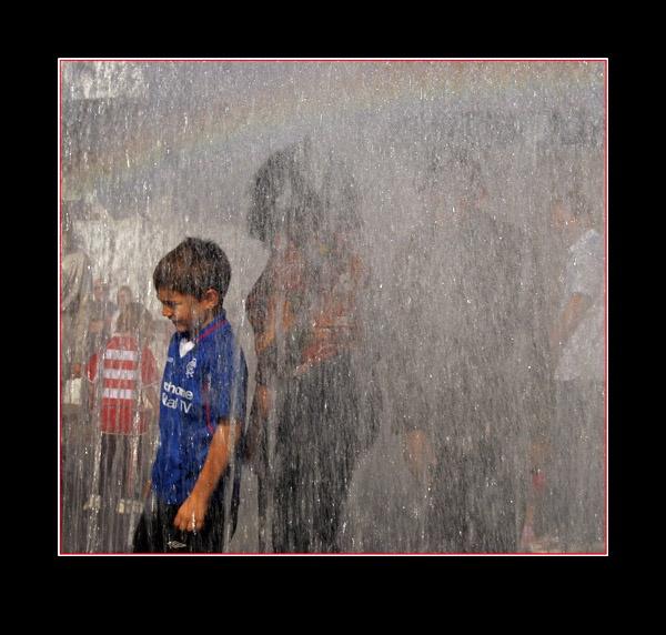 Fountain fun by Croft