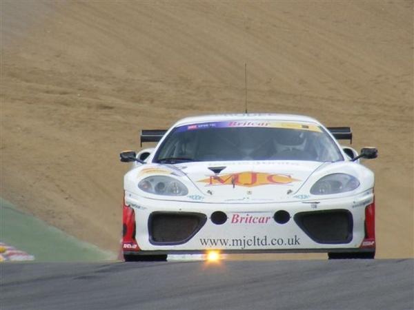 Britcar Ferrari by racephotographer